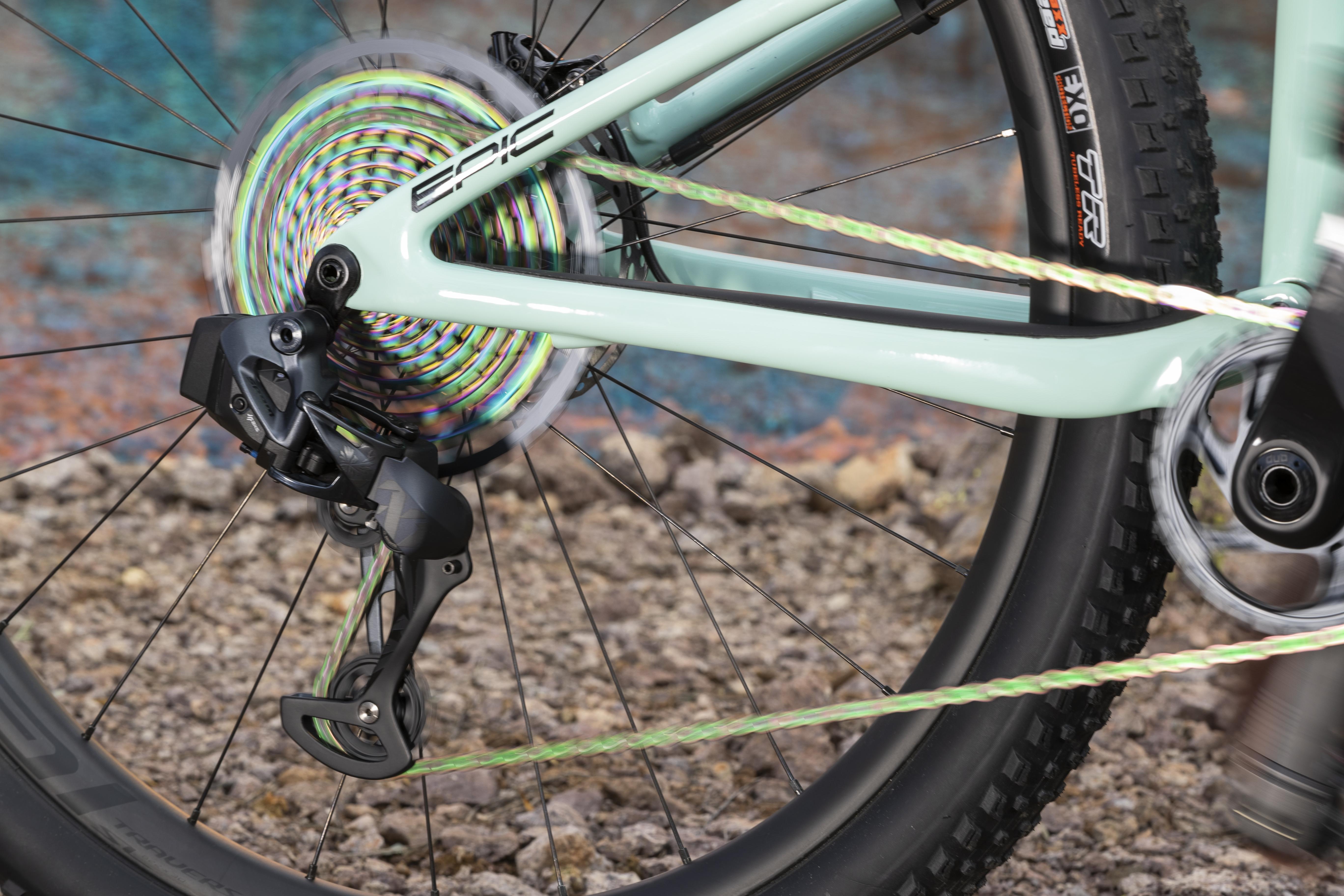 SRAM AXS Bike Suspension