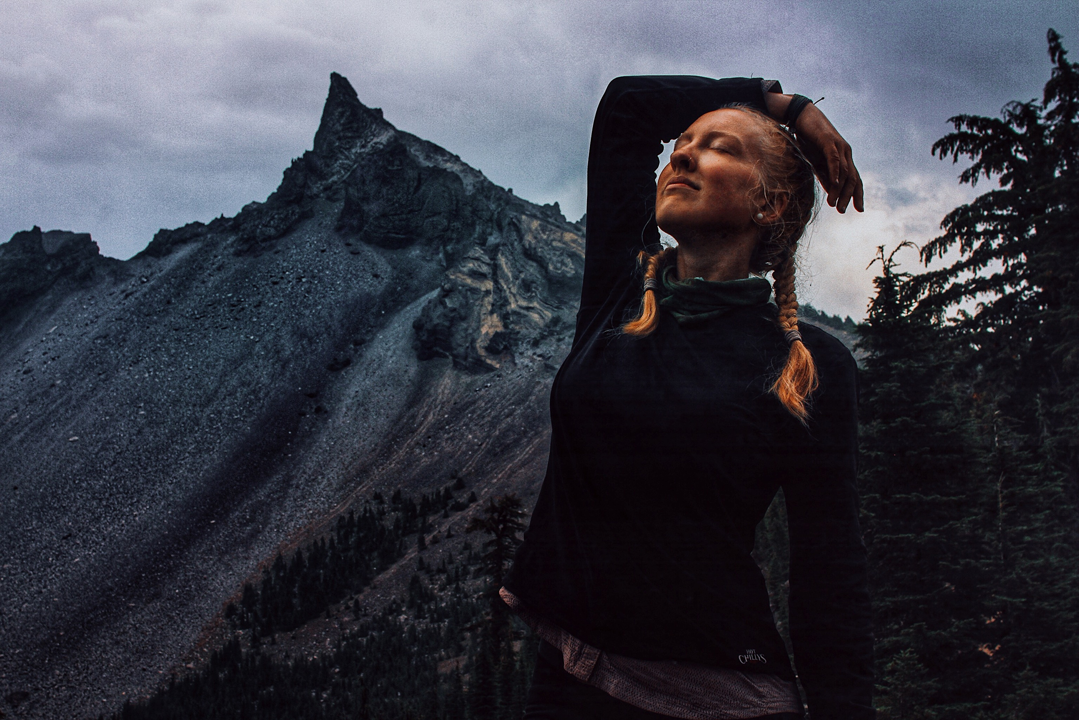 Hiker on the PCT