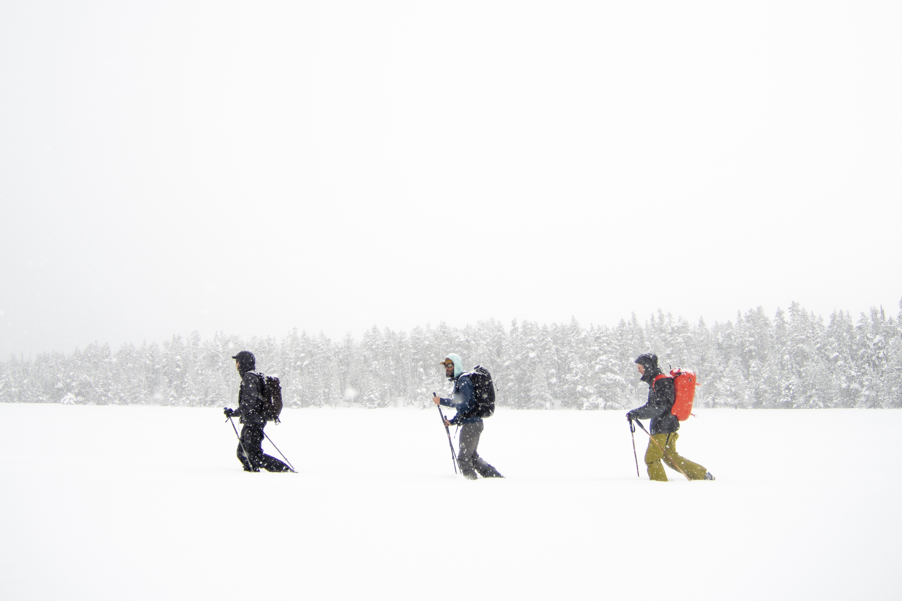 arcteryx academy backcountry ski touring jackson wyoming