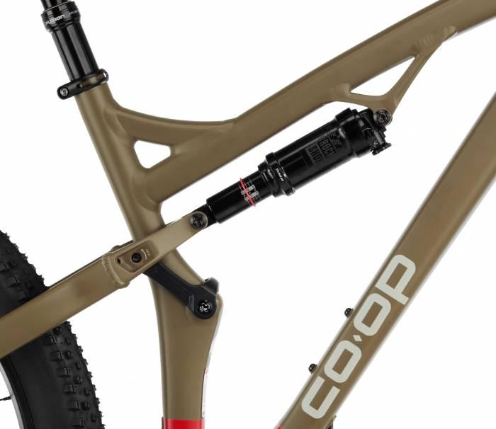 REI Co-op Cycles DRT 3.2 mountain bike RockShox Monarch R Solo Air