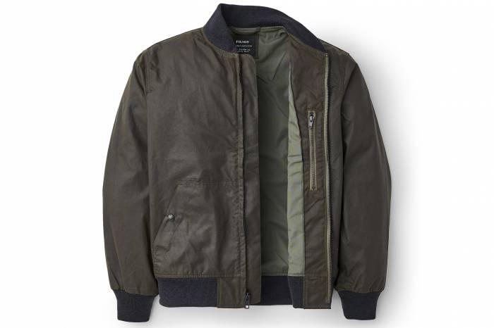 Filson Cover Cloth Bomber Jacket