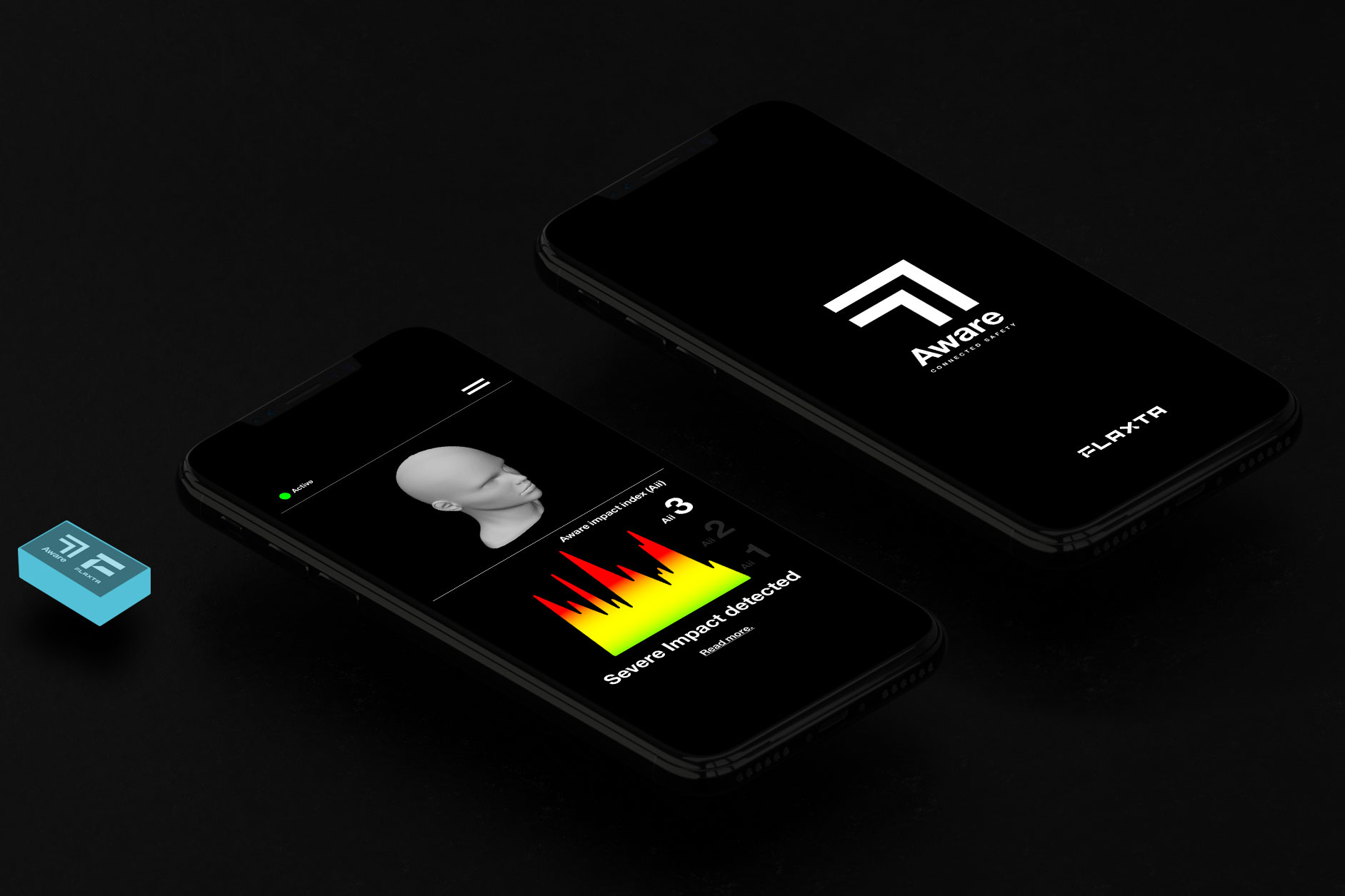 Flaxata Aware Impact Sensor