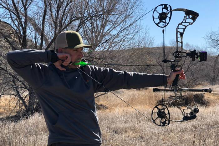 Shooting the Mathews Vertix bow