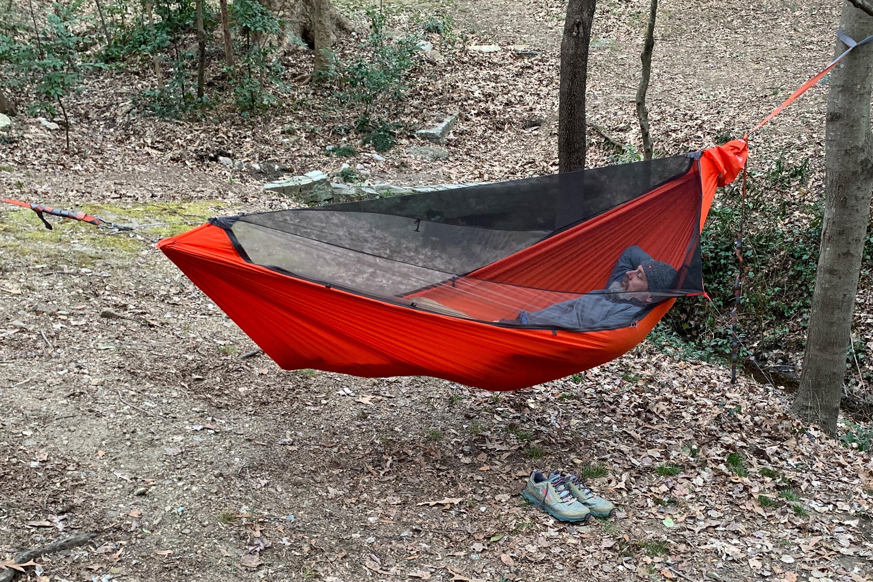 Kammock Mantis all-in-one hammock system bug net