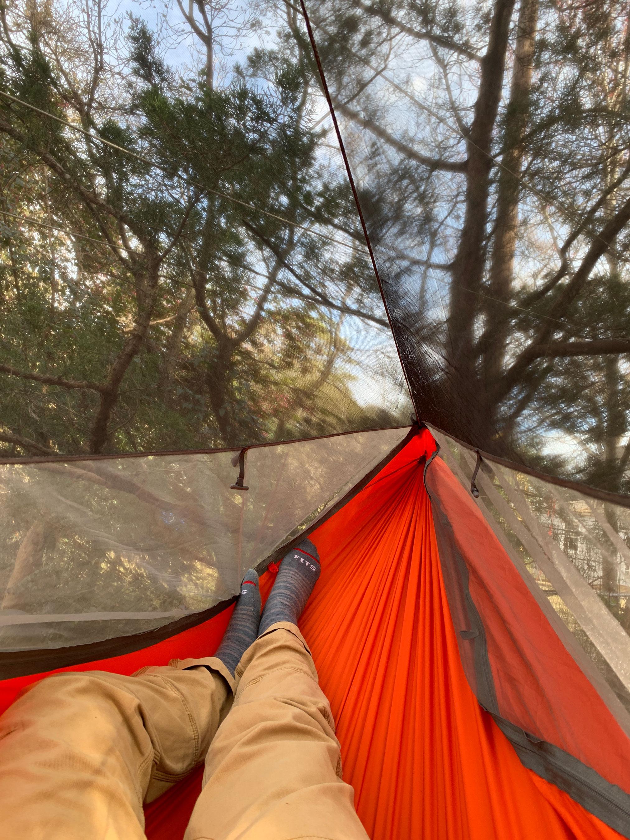 Kammock Mantis all-in-one hammock system