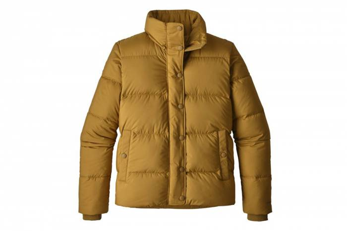 Kastanos Brown Silent Down Jacket