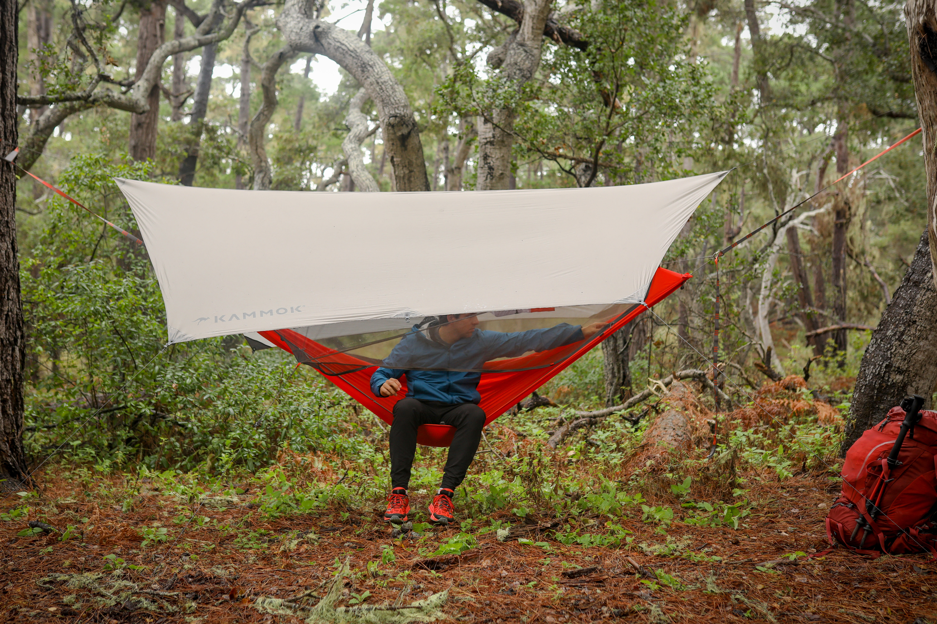 Kammock Mantis all-in-one hammock system review