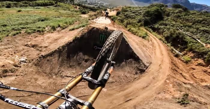 Would You Drop? Watch Massive MTB Jump Course 'Darkfest'
