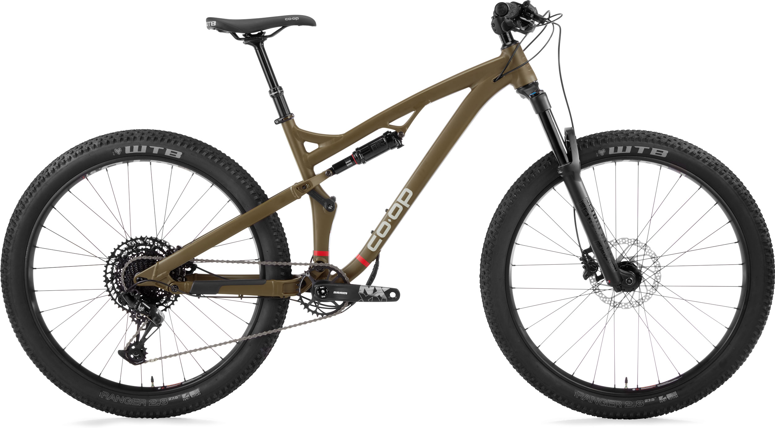 REI Co-op Cycles DRT 3.2 full-suspension mountain bike