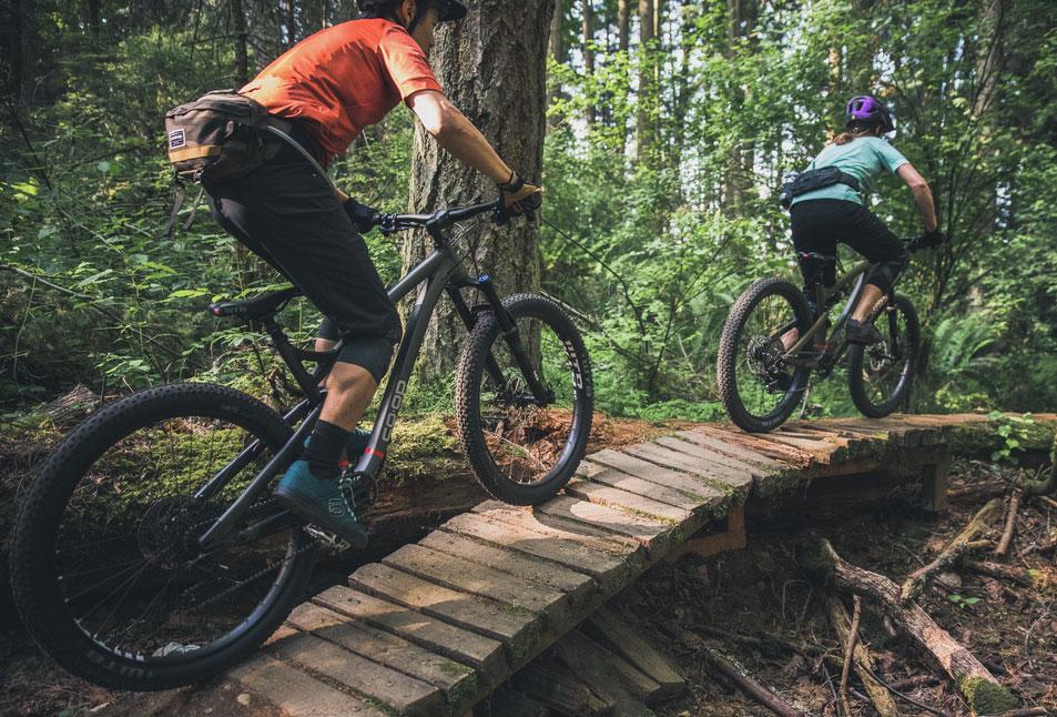 REI DRT full-suspension mountain bike