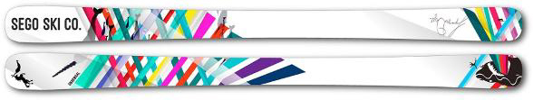 Sego Ski Co. Gnarwhal Skis