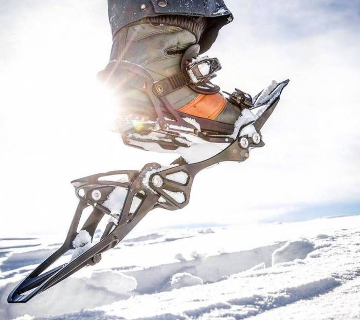 snowboard-snowshoes