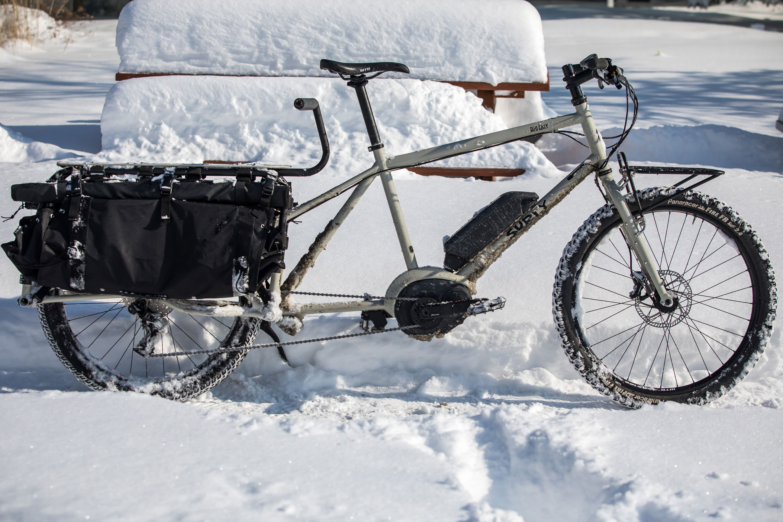 Surly Big Easy cargo e-bike