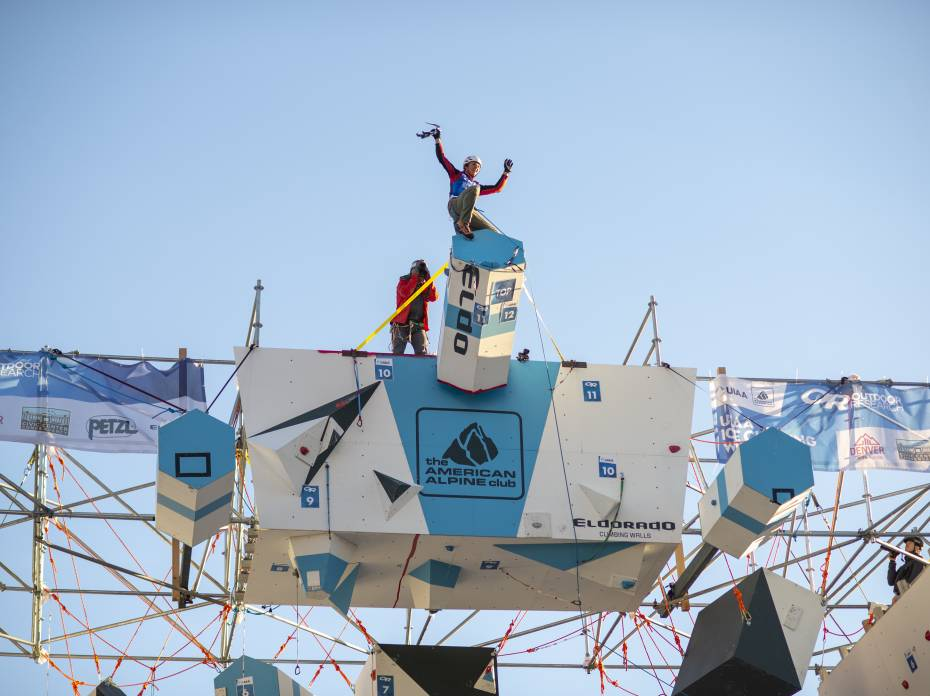 uiaa ice climbing championship