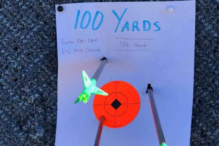 Mathews Vertix Bow target practice