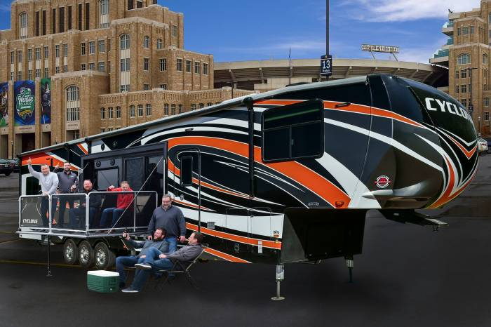 Heartland Cyclone Ultimate Tailgate RV