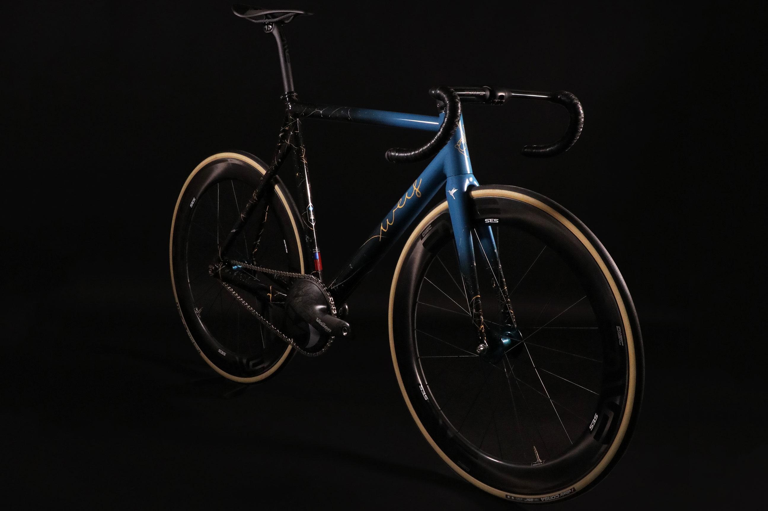 ALLITE Weis Super Magnesium Hammer Track Bike