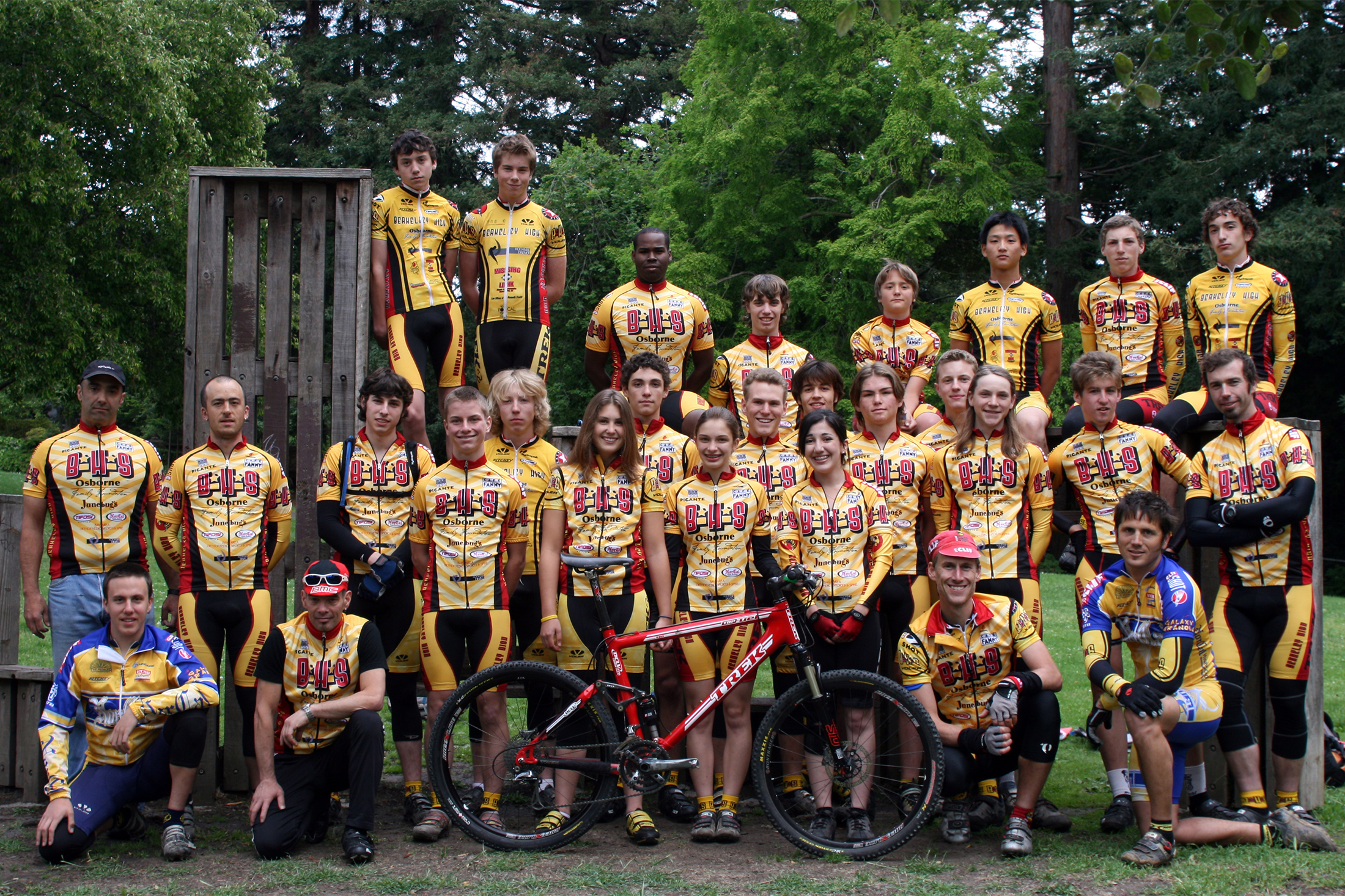 Berkeley High School Mountain Bike Team