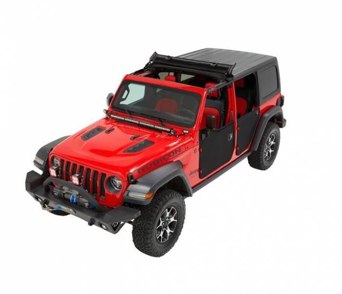 BesTop Sunrider on a Jeep Rubicon