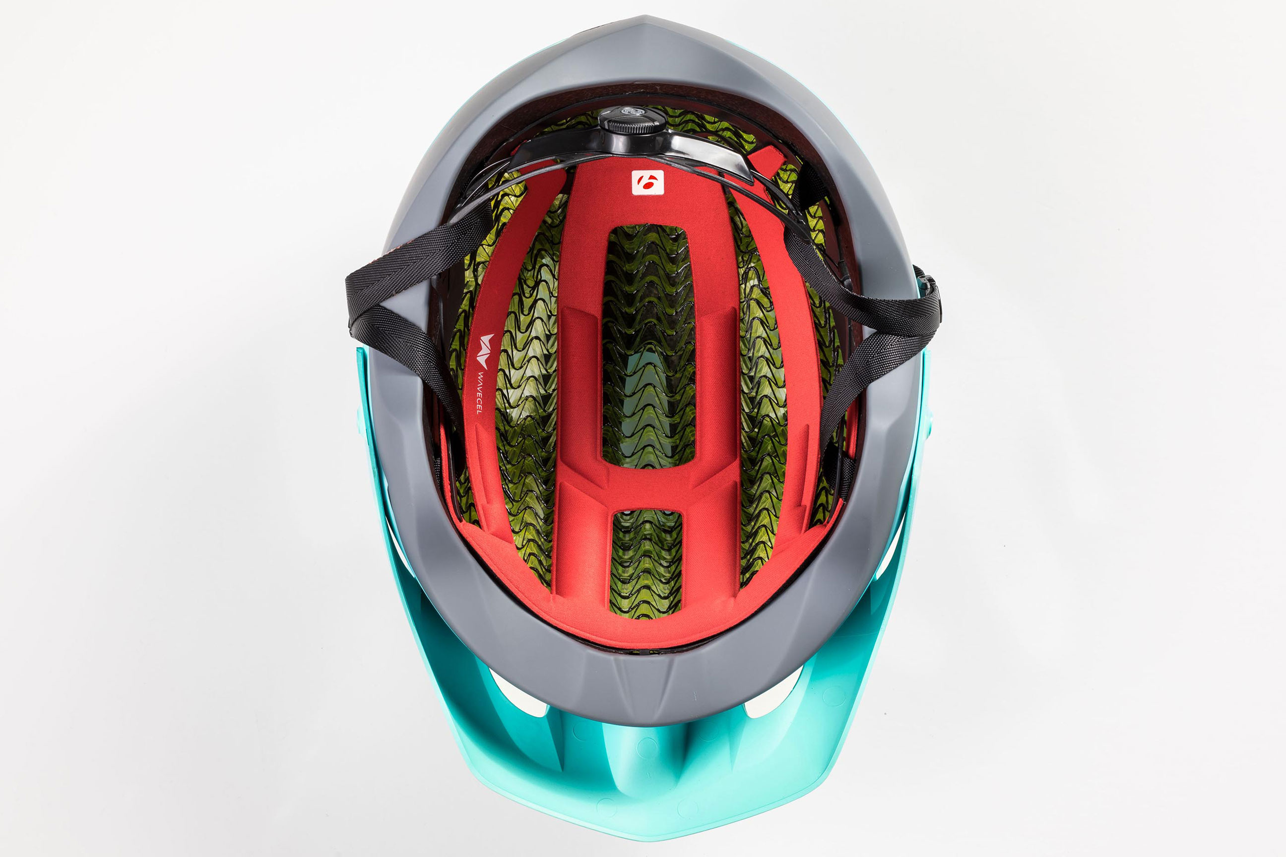 Inside Bontrager WaveCel mountain bike helmet