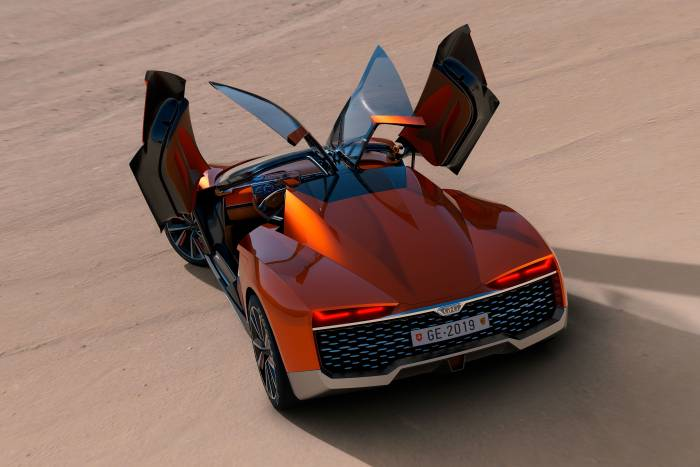 GFG Style Kangaroo concept car