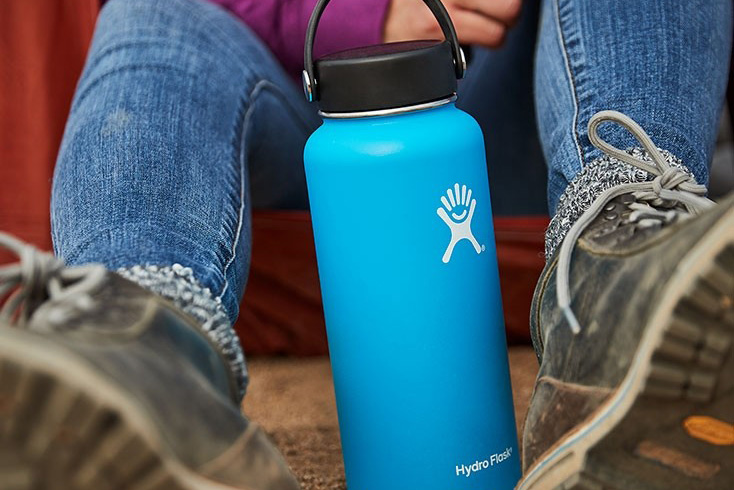 Hydro Flask 32-ounce Wide-Mouth Vacuum Water Bottle