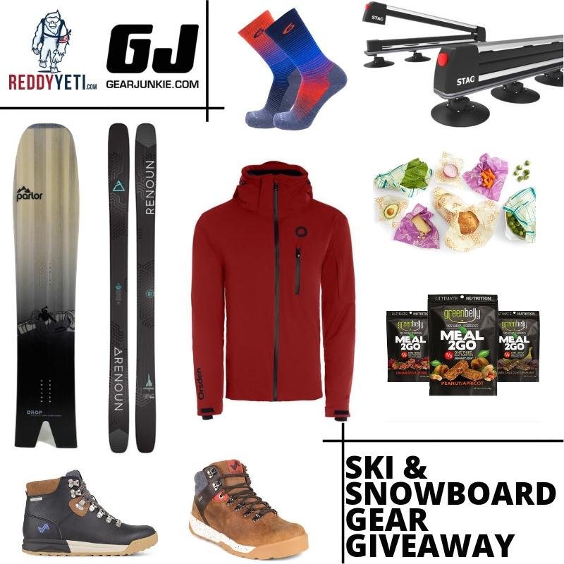 ReddyYeti Ultimate Spring Ski & Snowboard Gear Giveaway