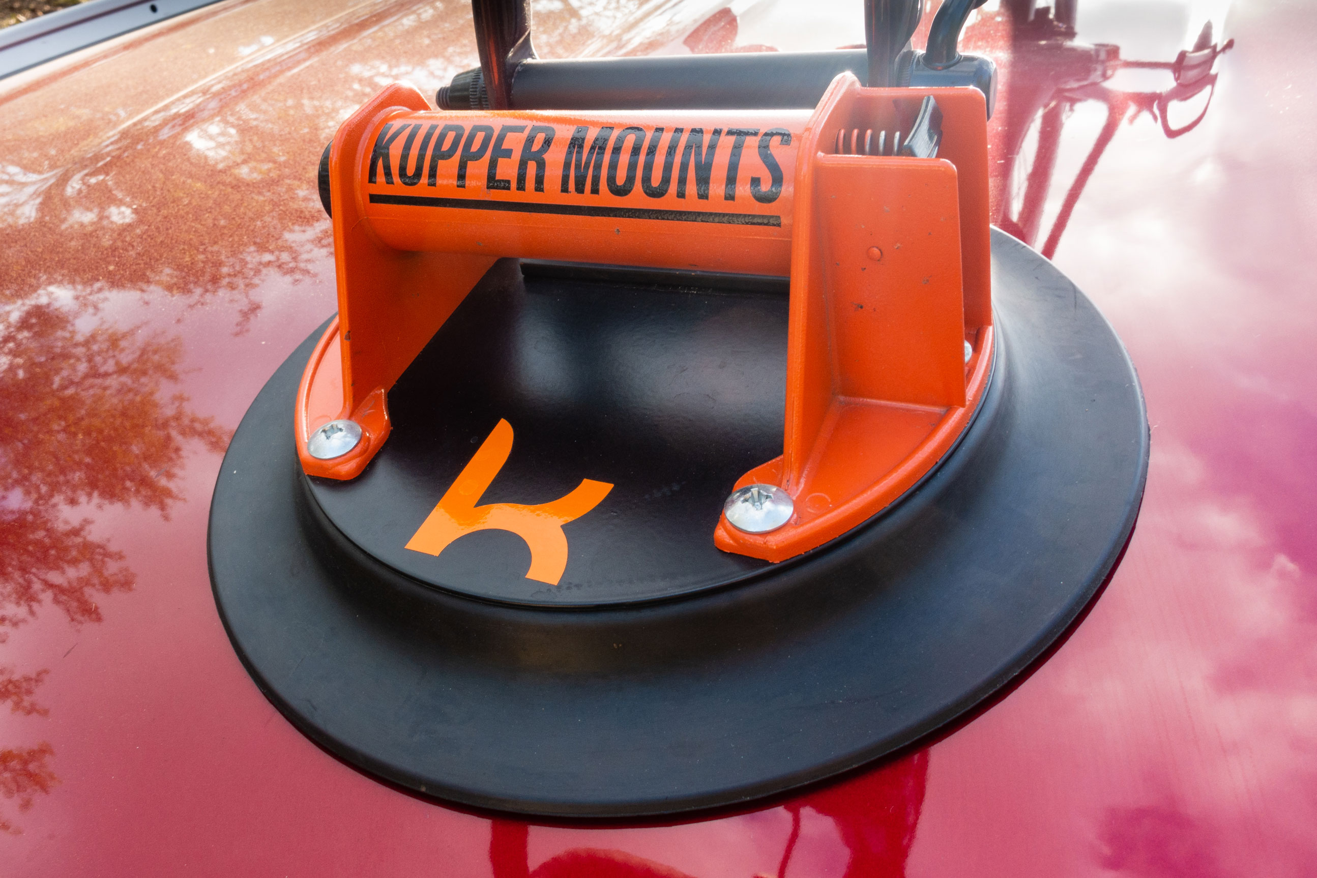 Kupper Mounts Bike Carrier suction cup