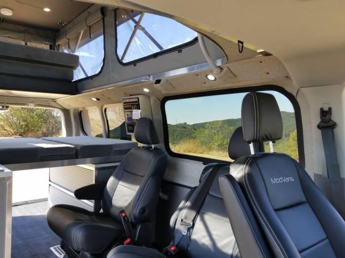 ModVans CV1 Camper Van interior
