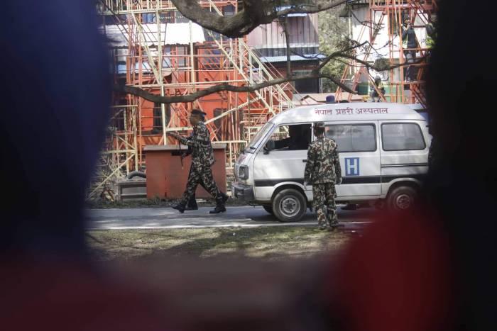 Nepal ambulance