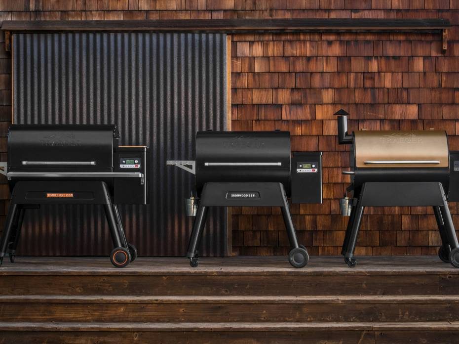Traeger Ironwood Pro and Timberline pellet grills