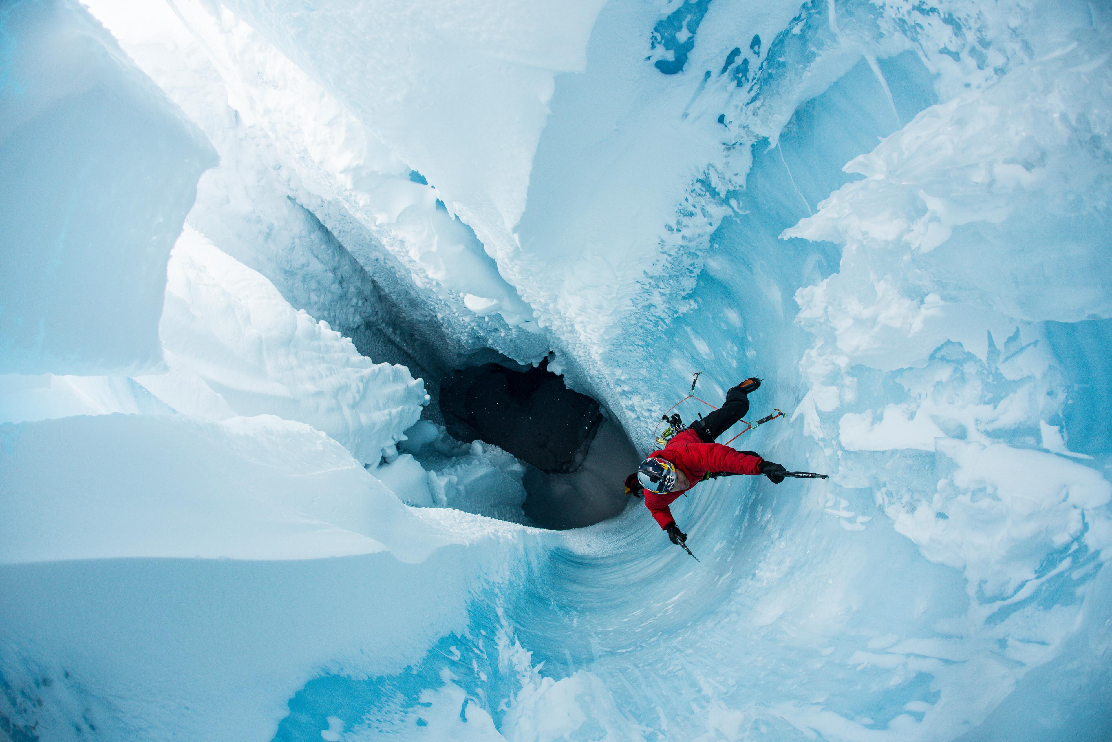 Will Gadd Climbs Greenland Ice