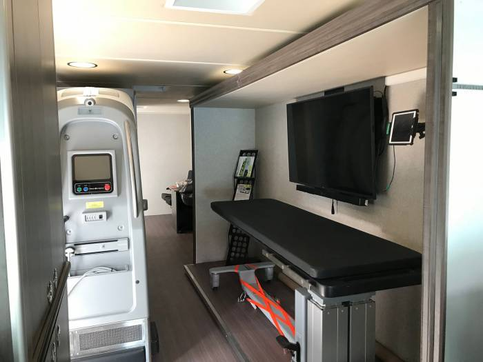 Winnebago All-Electric/Zero-Emission RV interior