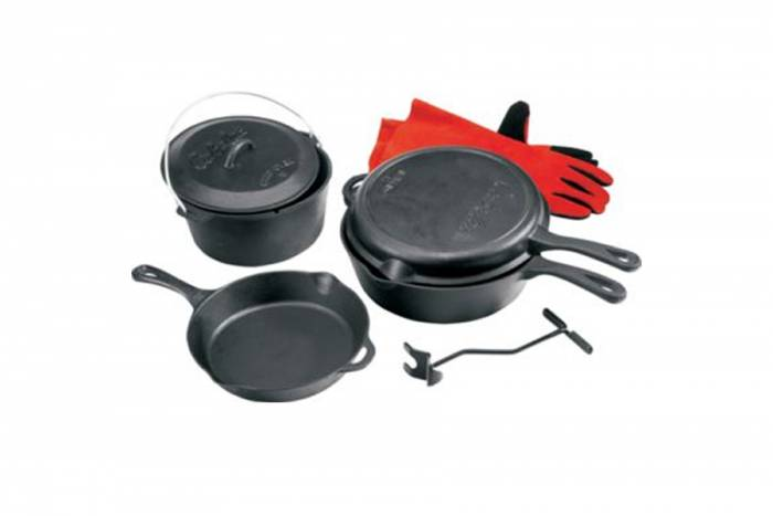 Cabela's Five-Piece Starter Cast Iron Set