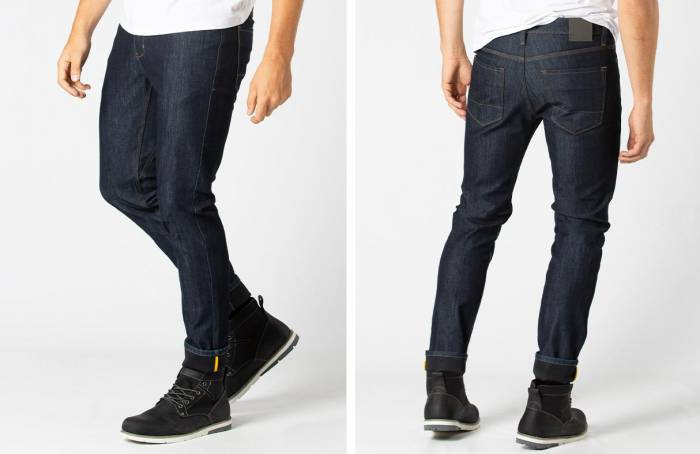 DUER All-Weather Denim waterproof-breathable membrane