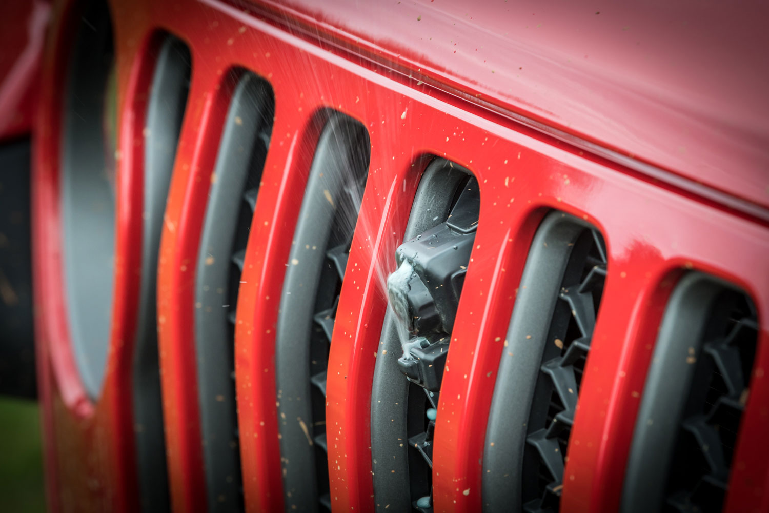 Jeep Gladiator Pickup Truck grille
