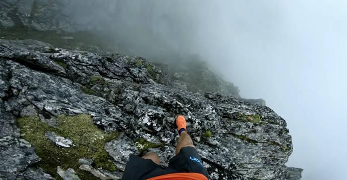 Watch: Terrifying Video of Kilian Jornet Running Ridges in Norway