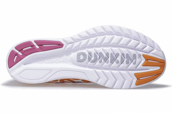 Saucony x Dunkin' Donuts Kinvara running shoe