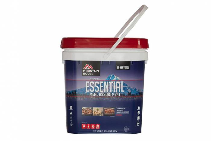 Mountain House Essential Meal Kit bucket