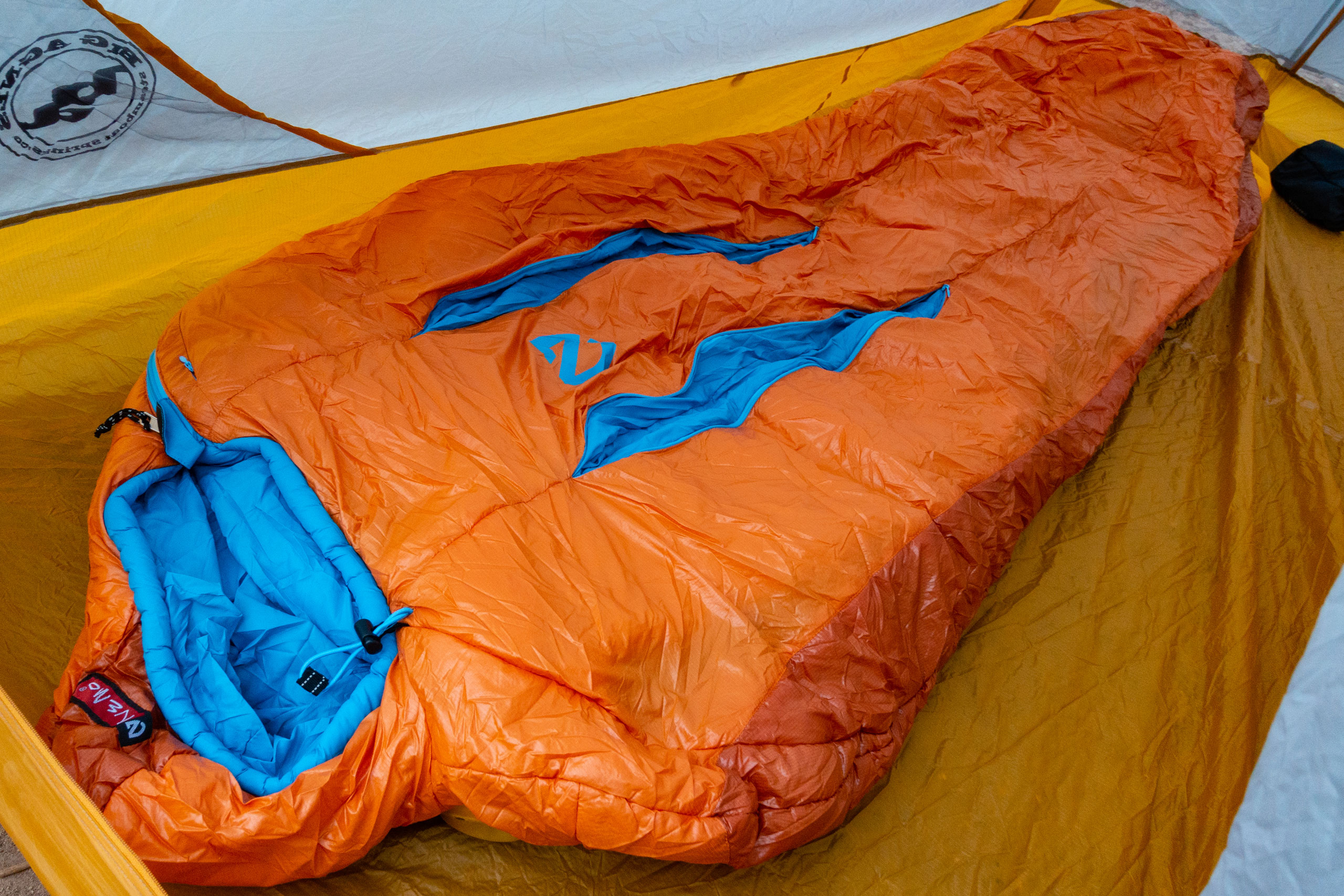 differently 60d93 deae9 First Look: NEMO Kyan 35 Synthetic Mummy Sleeping Bag ...