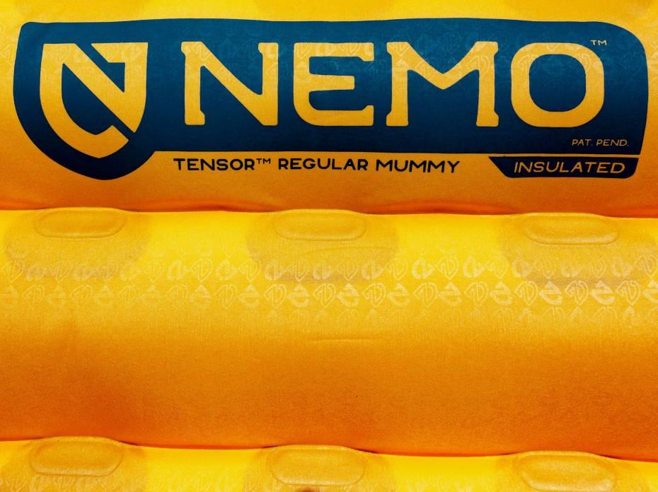 Nemo Tensor Ultralight Sleeping Pad baffles