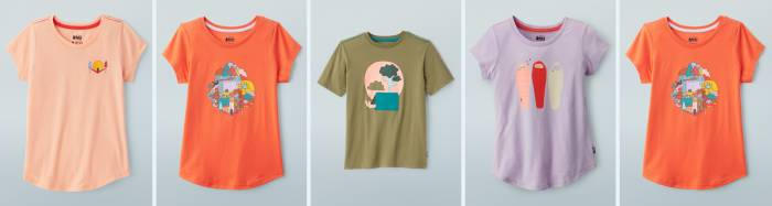 REI Co-op Toddlers' & Kids' T-Shirts