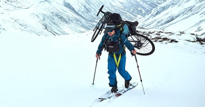 The Ultimate Sport! Ski Mountaineering Meets Bikepacking Video