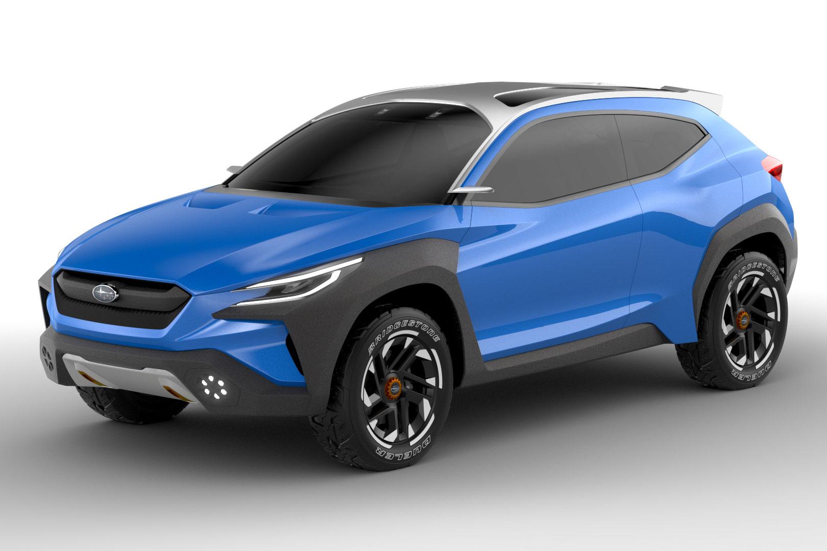 Subaru Viziv Adrenaline concept in blue