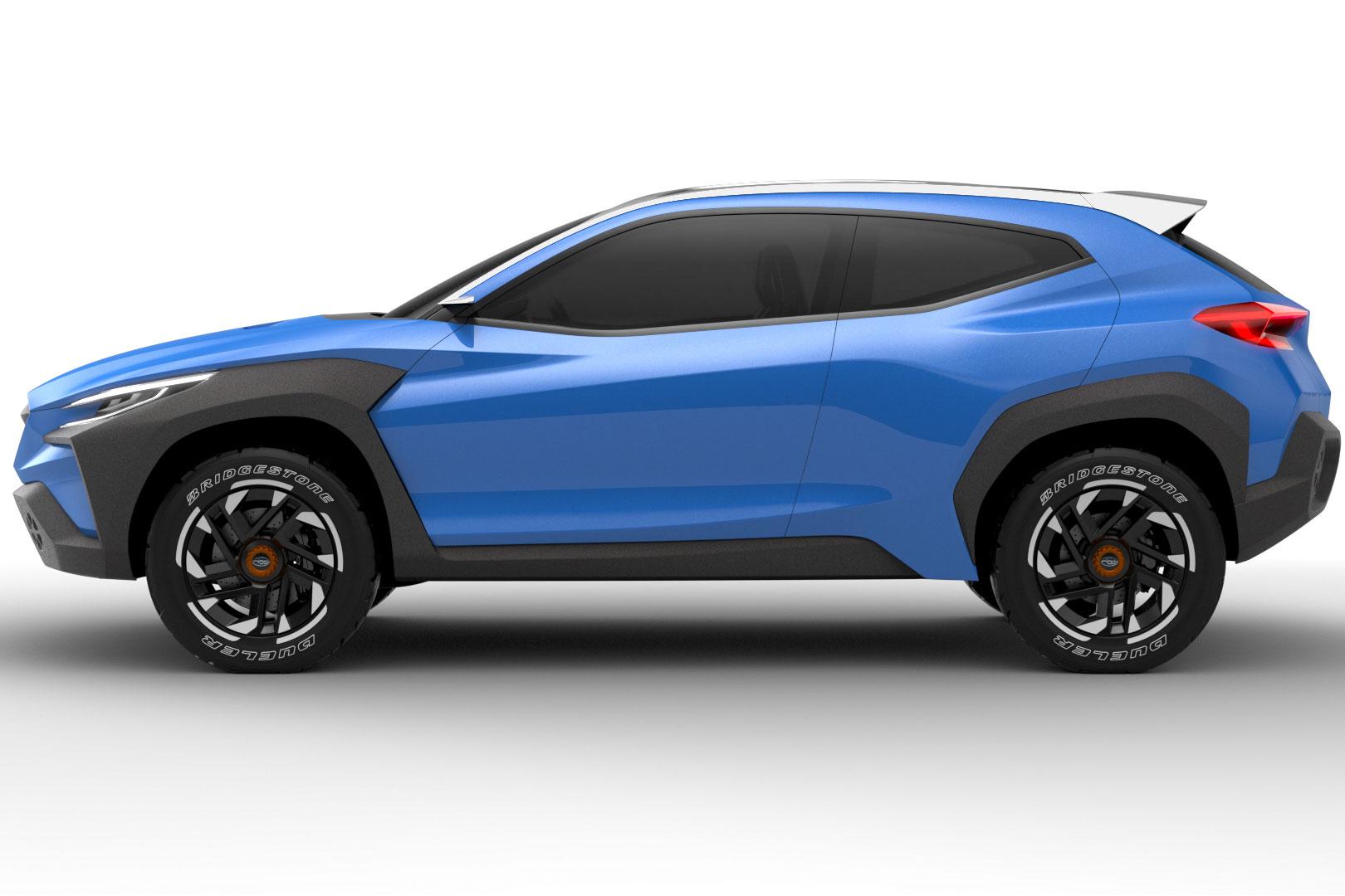 Subaru Viziv Adrenaline blue