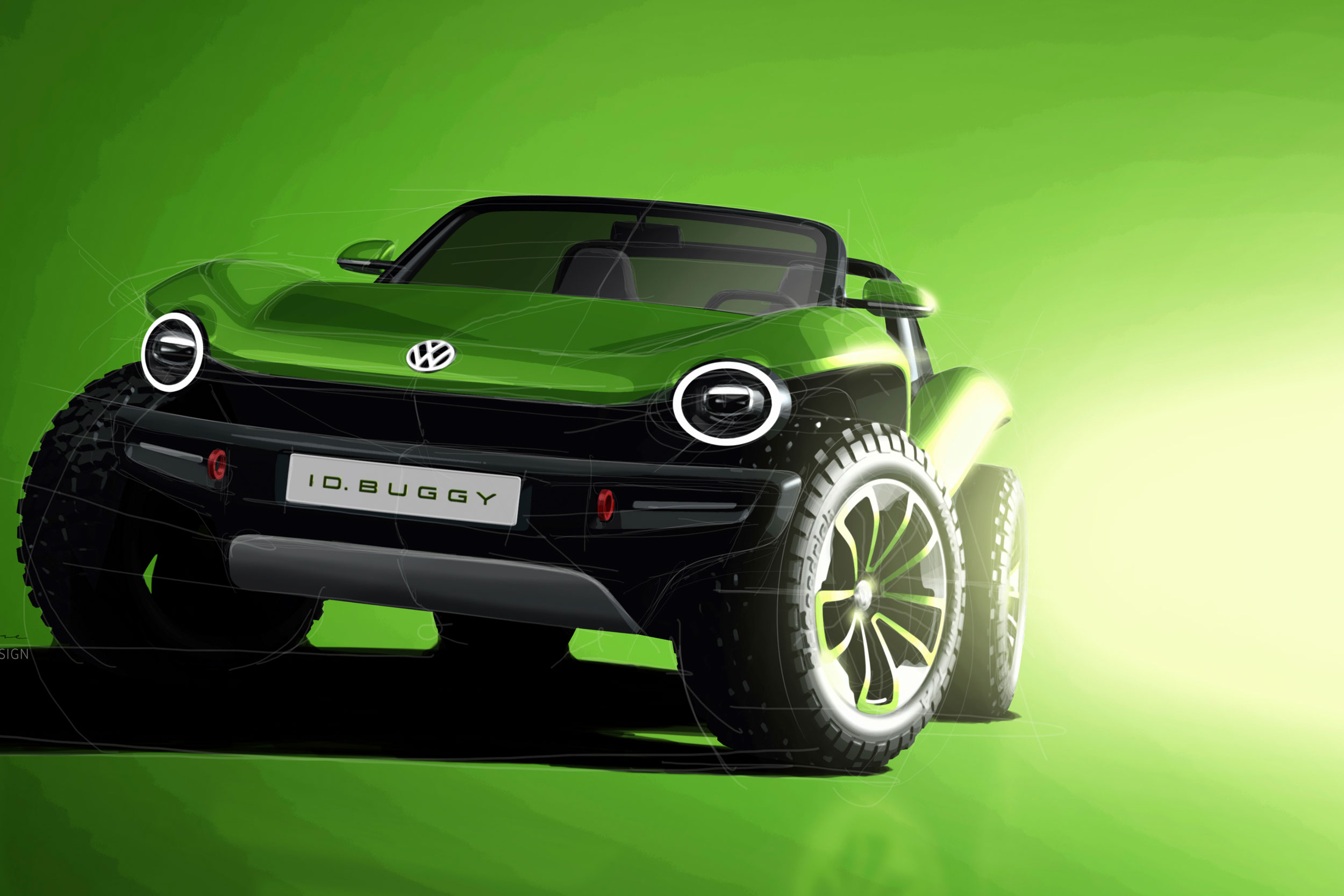 VW ID Buggy Electric Concept: Who Doesn't Want a Dune Buggy