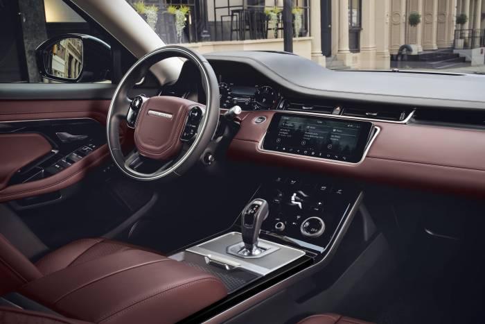2020 Land Rover Range Rover Evoque interior