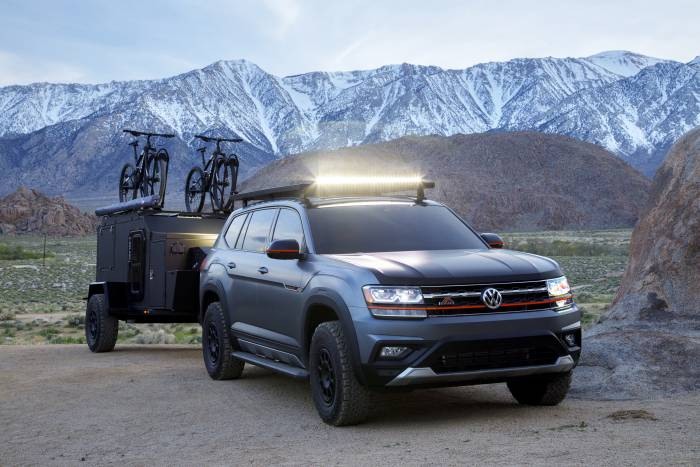 Vw Atlas Basecamp Concept The Ultimate Mountain Bike
