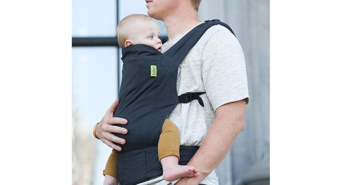 b64cc3e5710 We ve been testing and loving the Boba Kid Carrier since 2010. We like that  this soft carrier is simple to use and made of organic cotton.