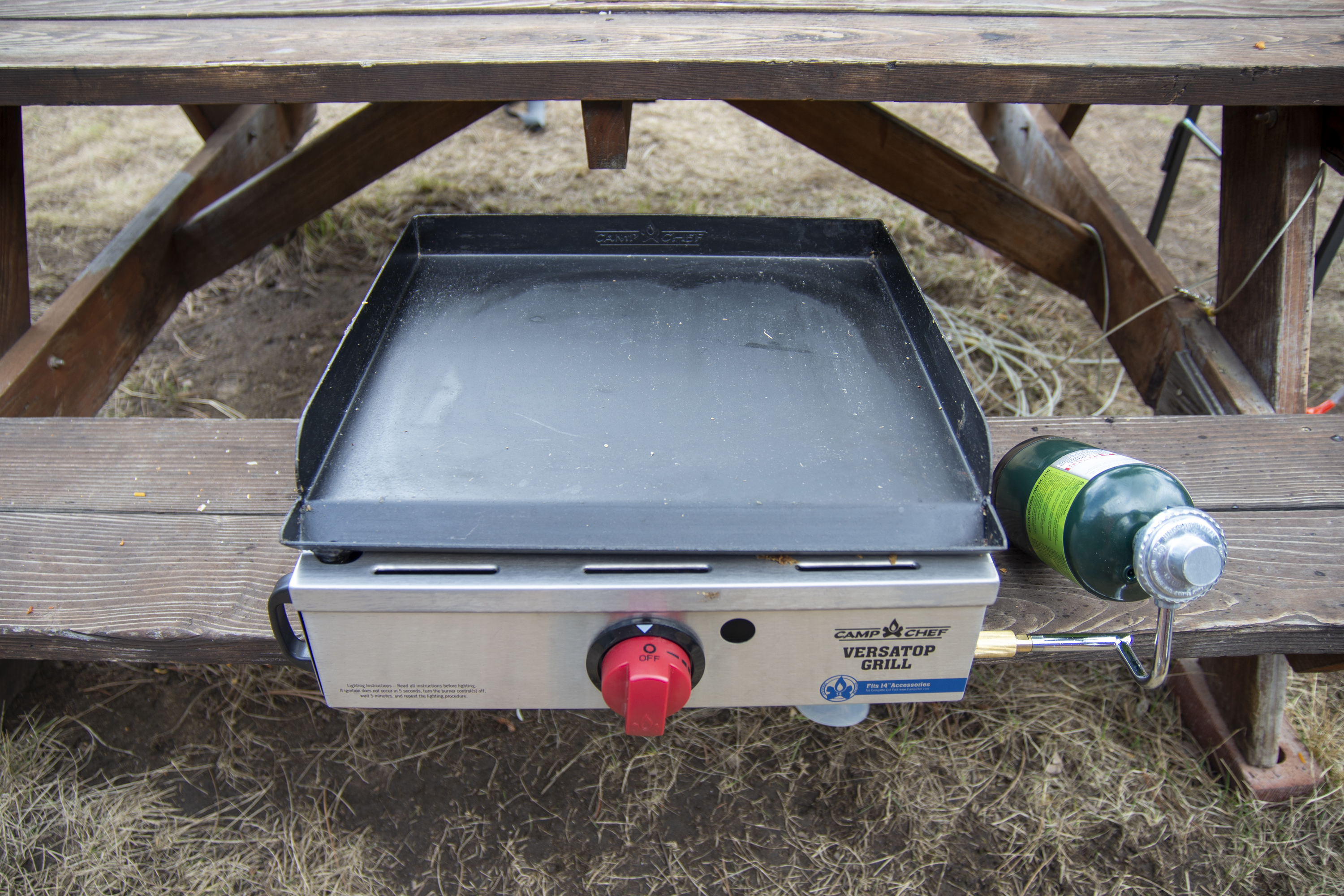 Best camping stoves: camp chef versatop review